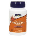 NOW Foods Vitamin D3 2000 IU - 240 Softgels