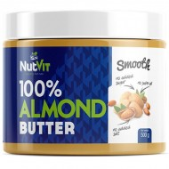 NutVit 100% Smooth Almond Butter - 500g
