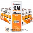 Nutramino HEAT Energy ZERO 330ml Orange x 12