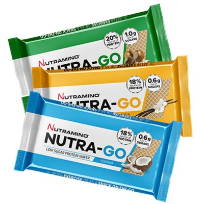 Nutramino Nutra-Go Protein Wafer x 12 *30% OFF*