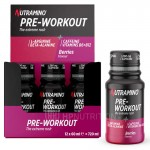 Nutramino Energy Pre Workout Shots 60ml - Box of 12 *10% OFF*