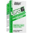 Nutrex Lipo 6 Black Natural Plant Based - 60 Veggie Caps