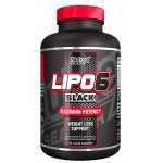 Nutrex Lipo 6 BLACK FAT BURNER - 120 Caps  *SALE*