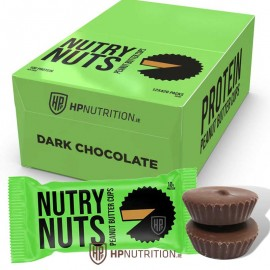 Nutry Nuts Protein Dark Chocolate Peanut Butter Cups - Pack of 12