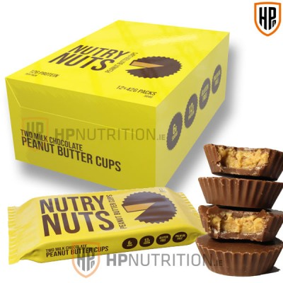 Nutry Nuts Milk Chocolate  Peanut Butter Cups - Pack of 12