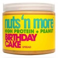 Nuts N More Birthday Cake High Protein + Peanut 454g