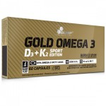 OLIMP GOLD OMEGA 3 D3 + K2 SPORTS EDITION - 60 caps