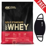 Optimum Nutrition Gold Standard Whey 4.53kg + Free Face Mask