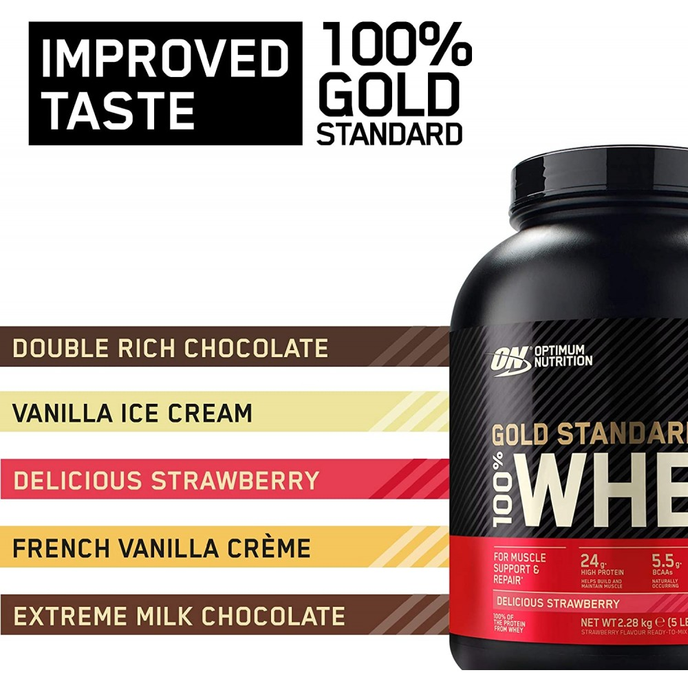 Optimum Nutrition Gold Standard Whey Protein 2.27kg * Exclusive New Flavour*