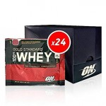 Optimum Nutrition Gold Standard 100% Whey  x 24  Sachets *BBE 10/20*