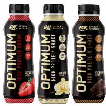 Optimum Nutrition High Protein Shake 10 x 330ml *10% OFF*