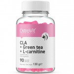 Ostrovit CLA + Green Tea + L-Carnitine - 90 caps