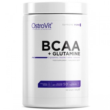 OstroVit BCAA & Glutamine Supreme Pure Powder - 500g