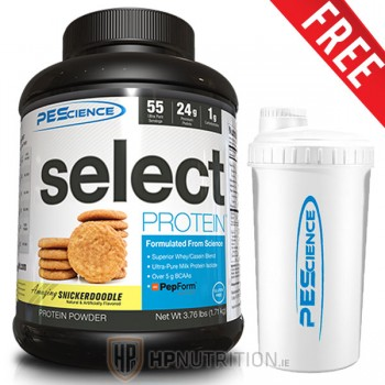 PEScience Select Protein 1.8kg + FREE PES Shaker