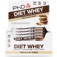 PhD Diet Whey Protein Bar 12x65g | High Protein | Low Sugar