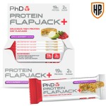 PhD Protein Flapjack+ 12 Bars
