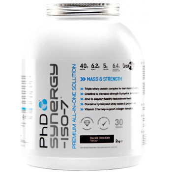 PhD Synergy Iso7 - 2kg - 20% OFF