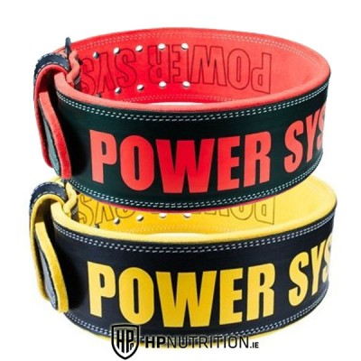 Power System Weight Lifting Leather Belt Power Beast 3830  *Colours May Vary