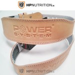 "Power System Weight Lifting 4"" Leather Belt Power Basic 3000 25% OFF"