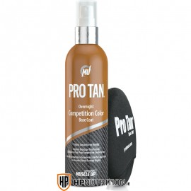 PRO TAN Overnight Competition Color Base Coat 250ml + Applicator