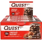 Quest Nutrition Protein Bars - Box of 12 *CHOCOLATE HAZELNUT*