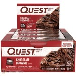 Quest Nutrition Protein Bars - Box of 12 *CHOCOLATE BROWNIE*