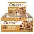 Quest Nutrition Protein Bars - Box of 12 *CHOC CHIP COOKIE DOUGH*