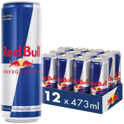 Red Bull Energy Drink 473ml x 12 Cans