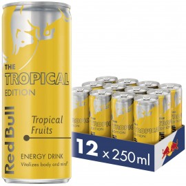 Red Bull Energy Tropical Edition 250ml x 12 Cans