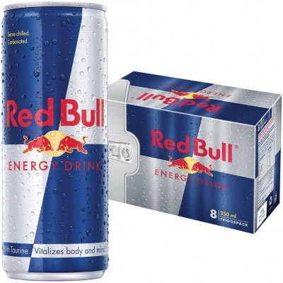 Red Bull Energy Drink 250ml x 8 Cans