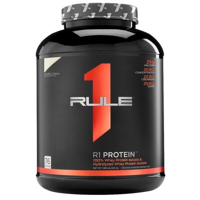 Rule1 R1 Whey Protein Isolate & Hydrolysate 2.3kg