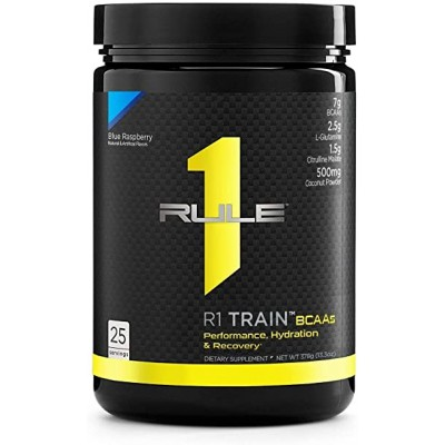 RuleOne R1 Train BCAA's With Citrulline Malate + Electrolytes 375g