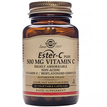 Solgar Ester Vitamin C Plus 500mg  - 50 Caps