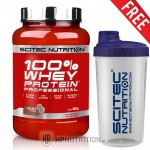 Scitec 100% Whey Protein Professional  920g  + Free Scitec Shaker
