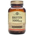 Solgar Biotin 5000UG - 50 Vegetable Caps