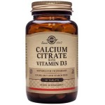 Solgar Calcium Citrate with Vitamin D3 - 60 Tabs