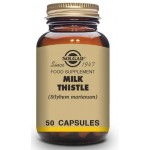 Solgar Milk Thistle Vegetable Capsules-Pack of 50