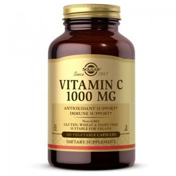 Solgar Vitamin C 1000 mg - 250 Vegetable Caps