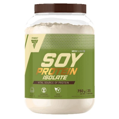 Trec Soy Protein Isolate Plant Protein 750g