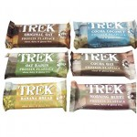 Trek Natural Protein Flapjack Bars (GLUTEN FREE, DAIRY FREE) 16 x 50g Bars BBE 16/2/18