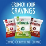 Ufit Protein Crunchers High Protein Popped Crisps - Box of 12 x 27g