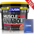 USN Muscle Fuel Anabolic 4kg + FREE Workout Log Book