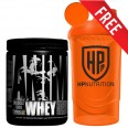 Universal Animal Whey Protein 130g + Free Hpnutrition Shaker