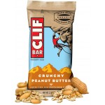 Clif Crunchy Peanut Butter Energy Bar 65g - Box Of 12 Bars *20% OFF*