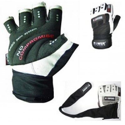 Power System 2700 NO COMPROMISE   Wrist Wrap Gym Gloves