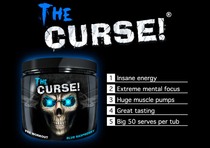 Cobra Labs Curse Pre Workout Powder 30 Serving