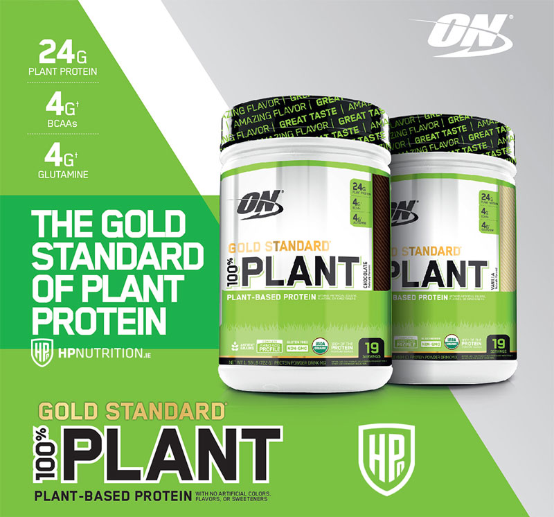 Buy Gold Standard Plant Protein Optimum Nutrition| LOWEST PRICE | HPnutrition.ie